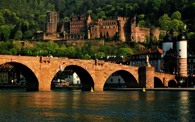 Гейдельбергский замок и старый мост