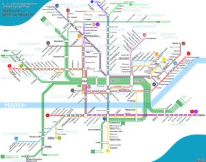 Схема проезда во Франкфурте