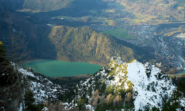 Вид с горы Предигштуль