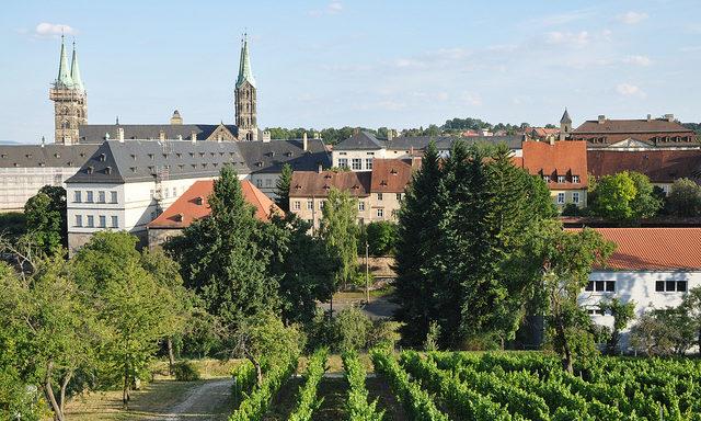 вид на город, Бамберг