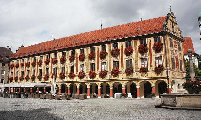 Живописный городок Мемминген