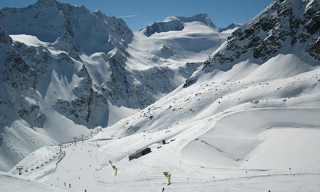 горнолыжные трассы в Зельдене