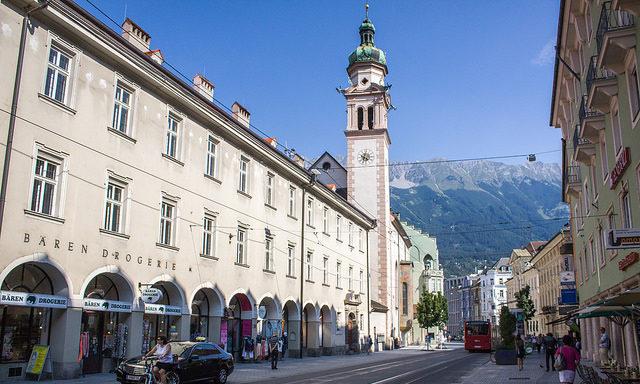 Городская башня Инсбрука