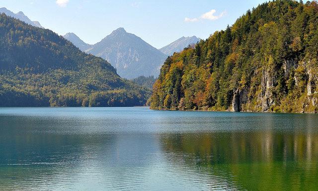 Озеро в окрестностях Фюссена