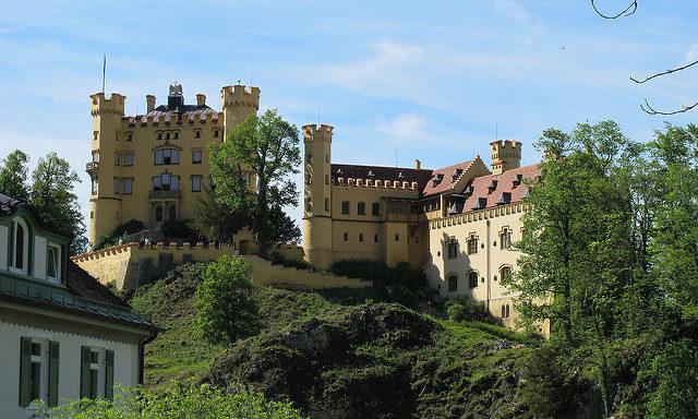 Замок в окрестностях Фюссена