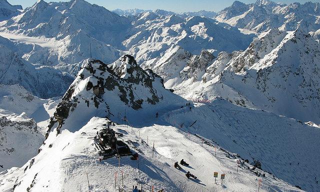 Горы в Вербье