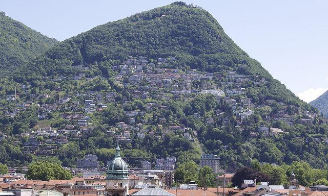 Горы в Лугано