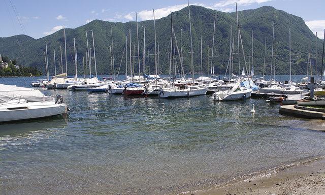 Пристань Лугано