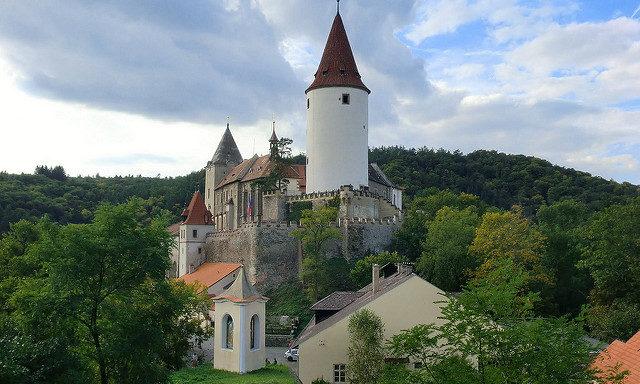 Замок в окрестностях Пльзеня