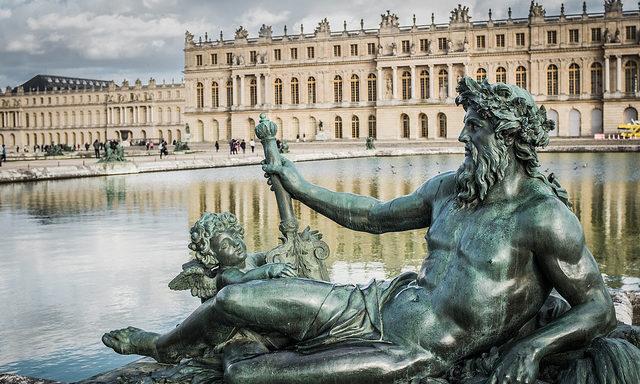 Фонтан Нептуна в Версале