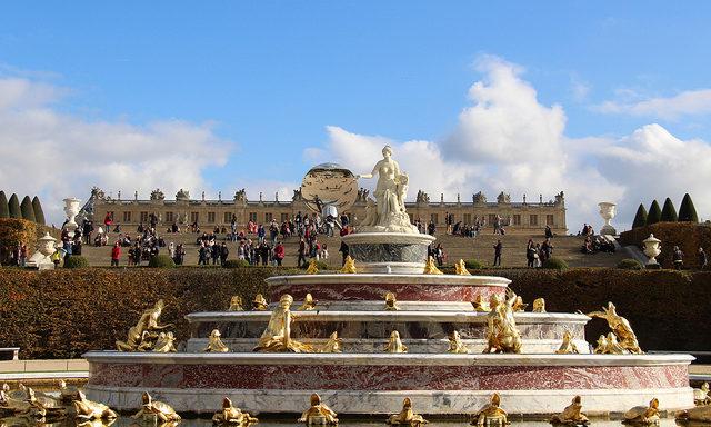 В парке Версаля