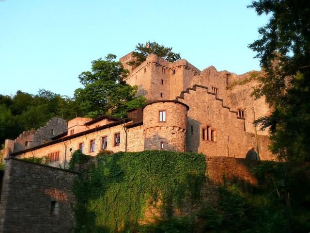 Замок в Баден-Бадене