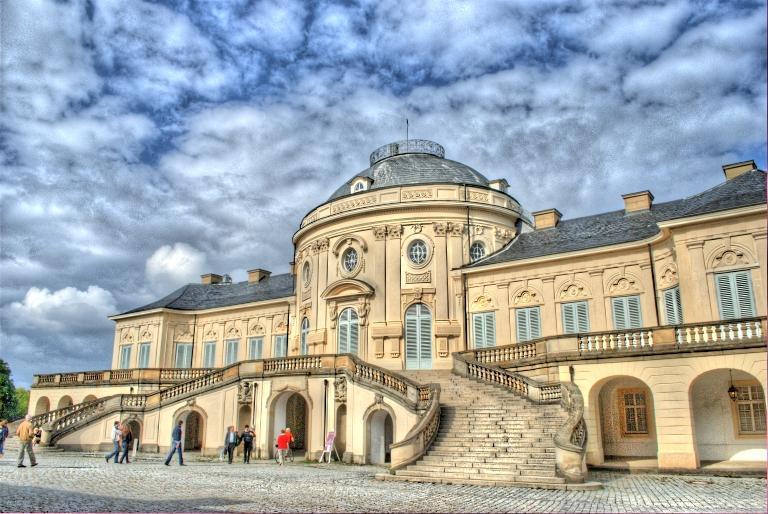 Дворец Солитьюд Штутгарт