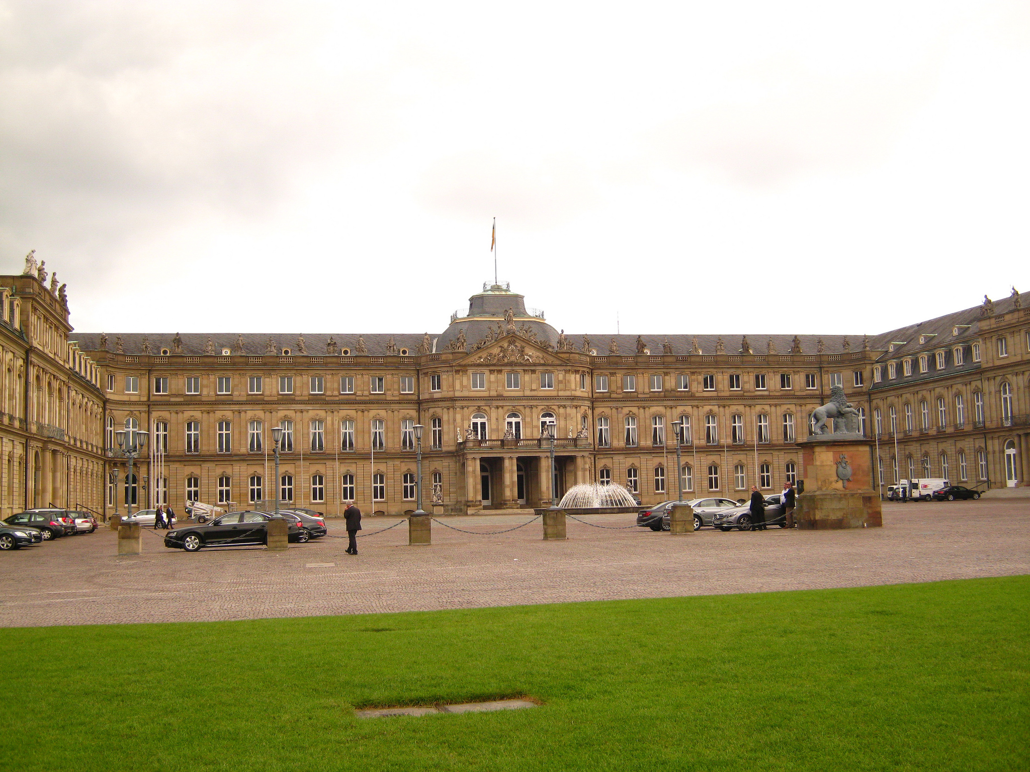 Gerhard Kemme/Новый дворец