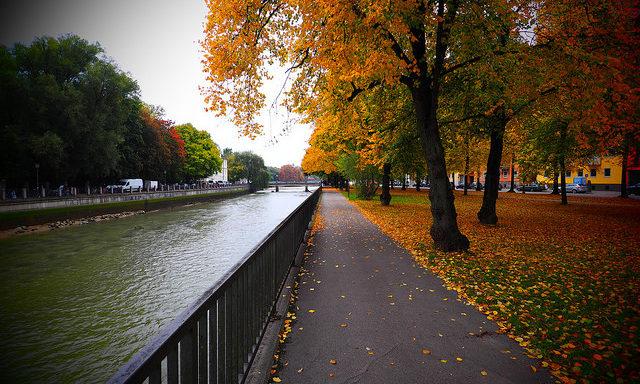 Мюнхен осенью