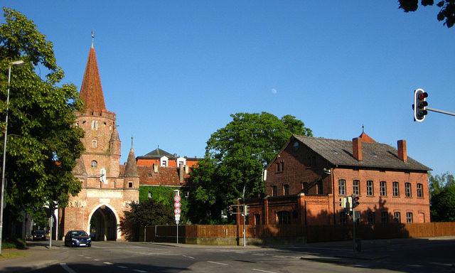 Городские ворота в Ингольштадте