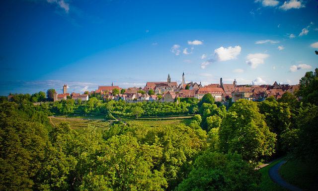 Виды на Ротенбург
