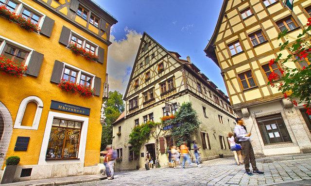 Традиции вахверка в Ротенбурге