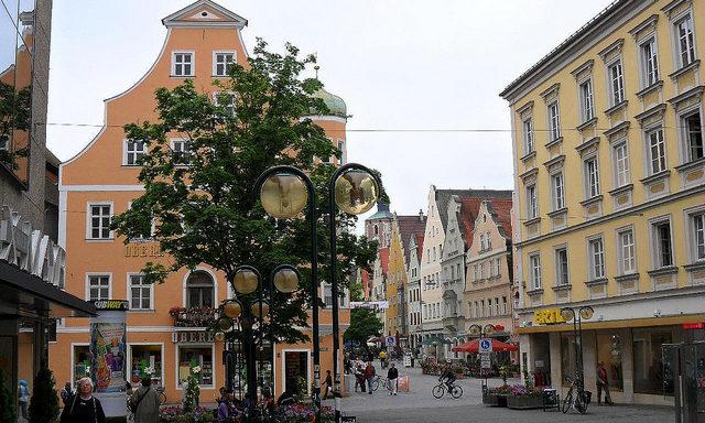 Улочки Старого города, Ингольштадт