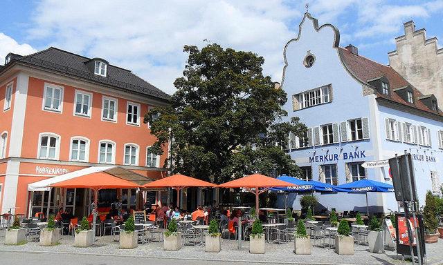 Центральная площадь в Ингольштадте