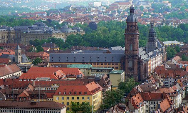 Вид сверху, Вюрцбург