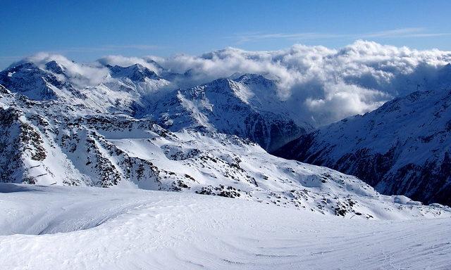 Туман над вершинами местных гор, Зельден