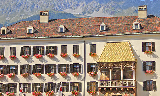 Панорама Инсбрука