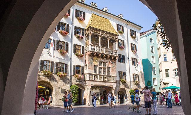 Золотая крыша в Инсбруке