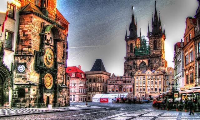Сердце Праги