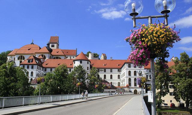 Монастырь и замок Фюссена