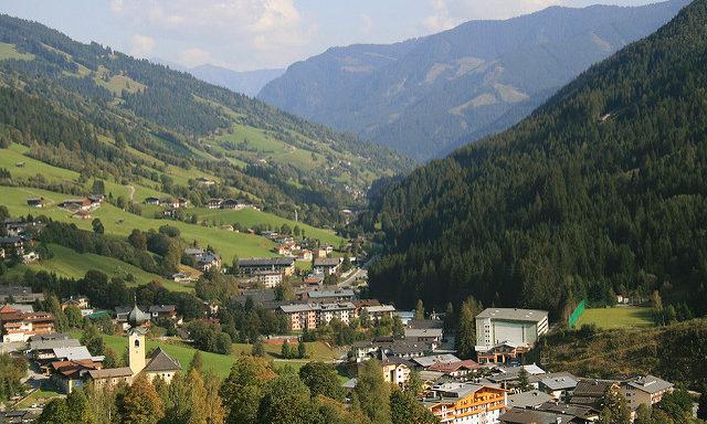 Долина Заальбах-Хинтерглемм летом