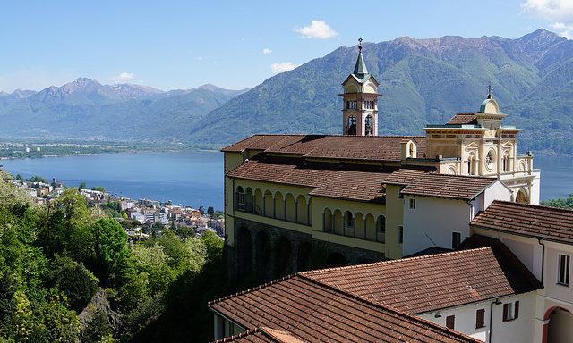 Церковь Madonna del Sasso