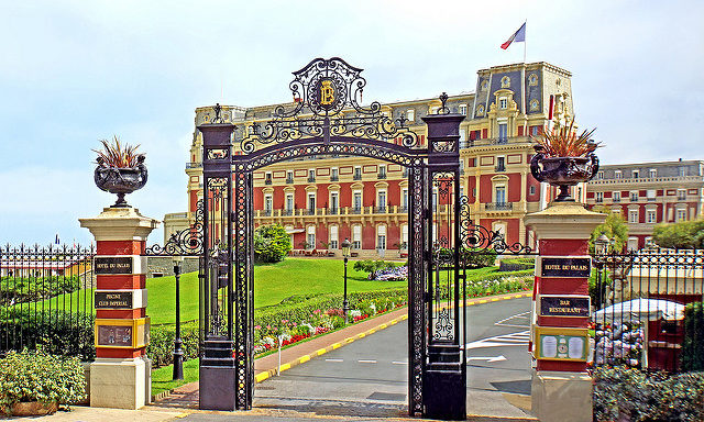 Дворец в Биаррице