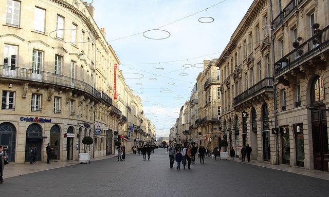 На улицах Бордо