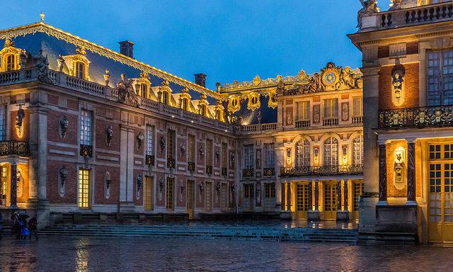 Вечерний Версаль