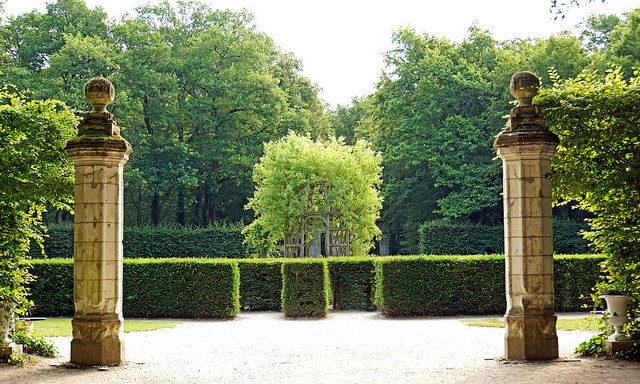 Вход в сады Шенонсо