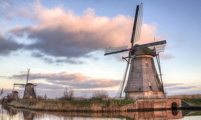 Мельницы в окрестностях Роттердама