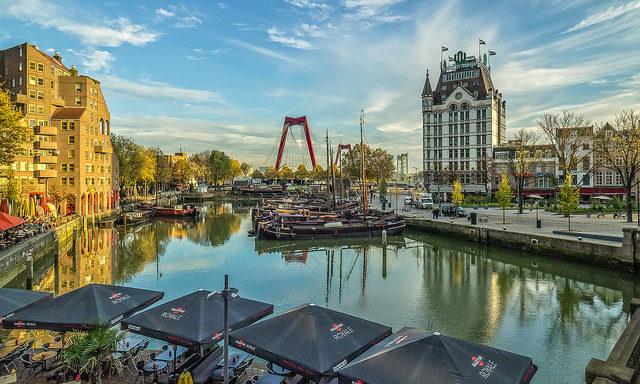 Старый квартал Роттердама
