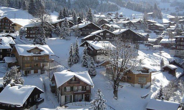 Гриндельвальд зимой