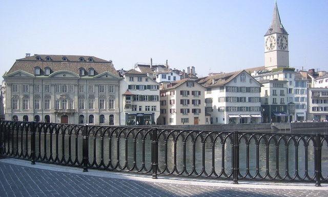 Улицы Цюриха