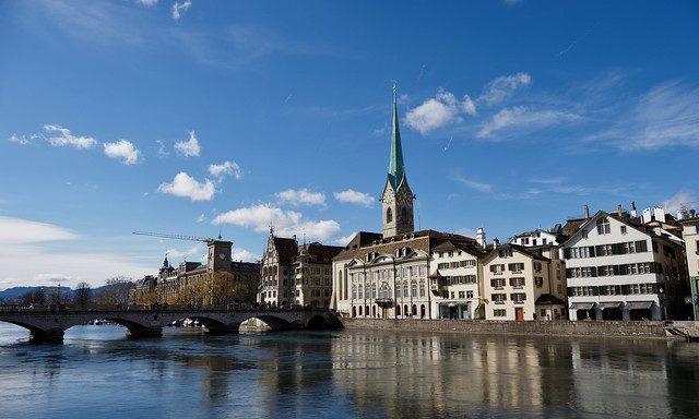 Набережная Цюрихского озера