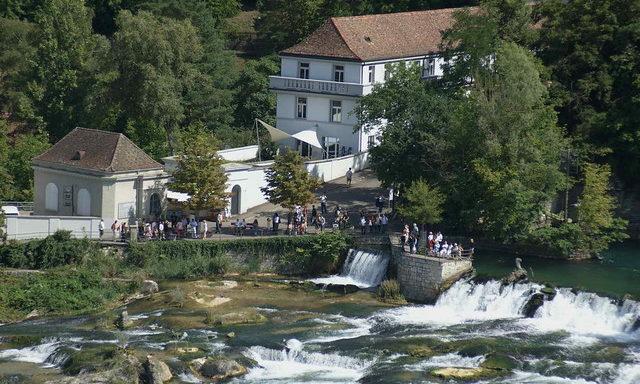 На подступах к Рейнскому водопаду