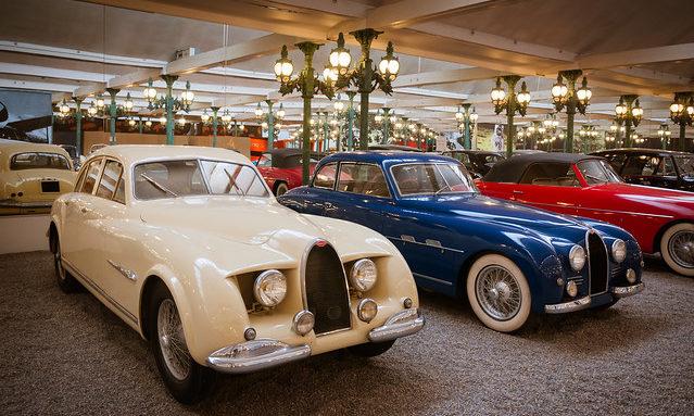 В музее автомобилей, Мюлуз
