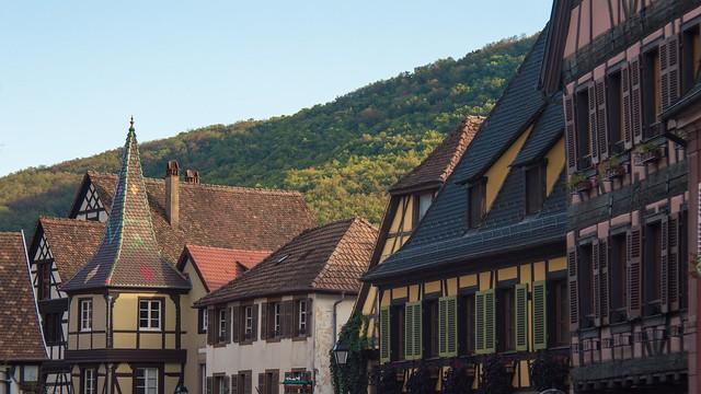 Крыши домов в Кайзерсберге