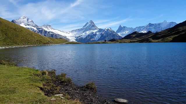 Озеро Бахальпзее на пути к плато Шайниге