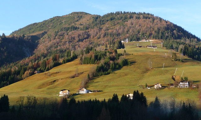 Осенние горы Кирхберга