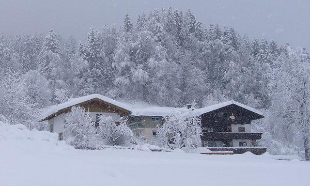 Зимний заснеженный Зелль