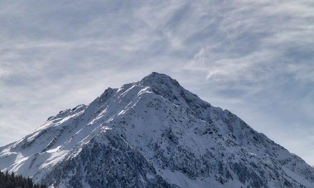 Одна из вершин Штубая