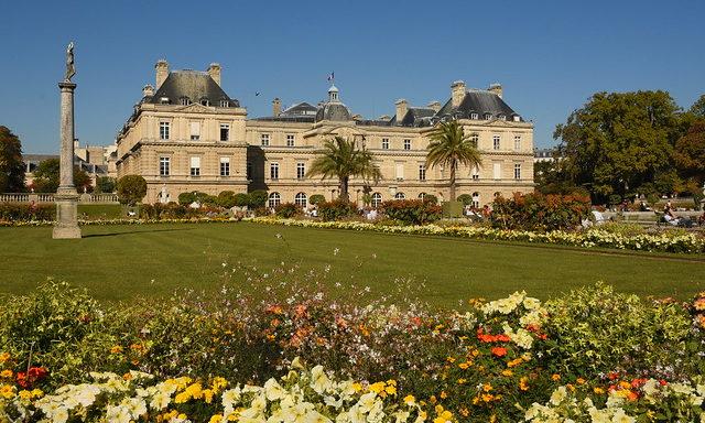 Сады Люксембургского дворца