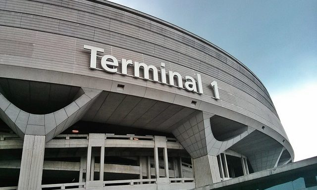 Терминал № 1 в аэропорту Шарль де Голль